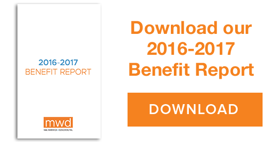 Download our 2015 benefit report. DOWNLOAD ->